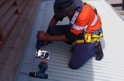 Static Line Installation, Anchor Points and Height Safety Systems